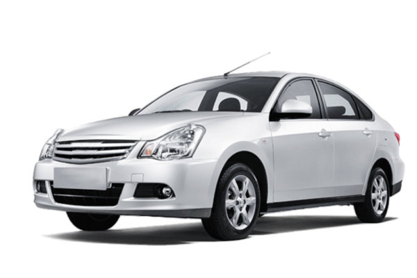 Nissan almera — front